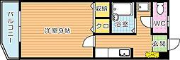 サクシード浅川[7階]の間取り