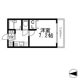 メゾン・ツジモト[1階]の間取り