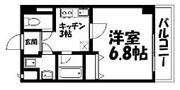 ローズステージ泉大津駅前[502号室]の間取り