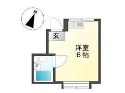 エスポワール吉祥寺[2階]の間取り