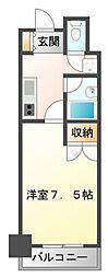KM江坂[7階]の間取り