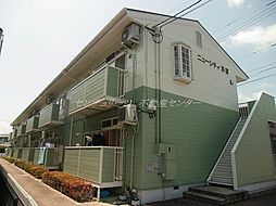 岡山県岡山市中区雄町の賃貸アパートの外観
