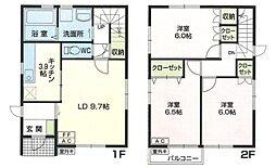 [一戸建] 青森県八戸市南類家2丁目 の賃貸【/】の間取り