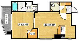 広島県広島市南区段原3丁目の賃貸マンションの間取り