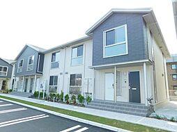 福岡県北九州市小倉北区片野新町3丁目の賃貸アパートの外観