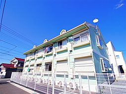 東京都東村山市野口町2丁目の賃貸アパートの外観