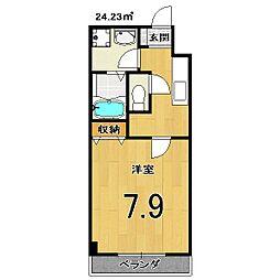 グランレブリ−桂パ−トⅡ[510号室]の間取り