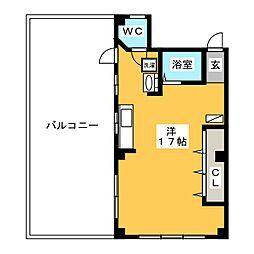 スペースビル2[3階]の間取り