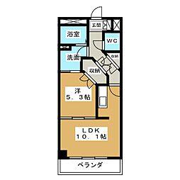 グランドステージ丸の内[7階]の間取り