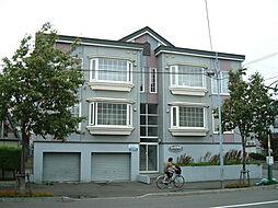 北海道札幌市東区北二十八条東14丁目の賃貸アパートの外観