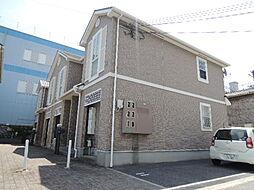 大阪府大阪市平野区加美北4丁目の賃貸アパートの外観