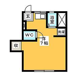 かおる荘[2階]の間取り
