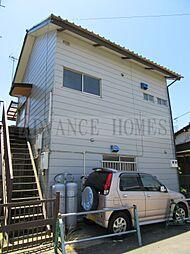 千葉県八街市大木の賃貸アパートの外観