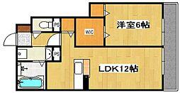 D-国分中央[1階]の間取り