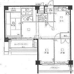 秀和第2田町レジデンス[8階]の間取り