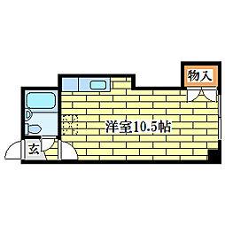 レジデンス山本[3階]の間取り