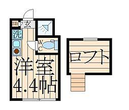 Stage中野III[2階]の間取り