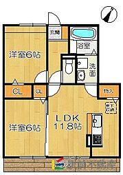 (仮)D-room兵庫北二丁目[103号室]の間取り
