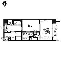 ウィズフィール京都山科507号室