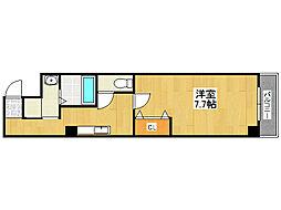 鶴橋末広ビル2[1階]の間取り