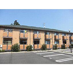 茨城県つくば市谷田部の賃貸アパートの外観