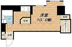 ローレルステート松屋町[3階]の間取り