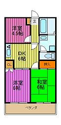 シミュレーINAGAKI[402号室]の間取り