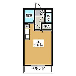 メゾン彦六[3階]の間取り