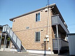 静岡県富士市本市場の賃貸アパートの外観