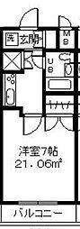 神奈川県相模原市南区大野台3丁目の賃貸マンションの間取り