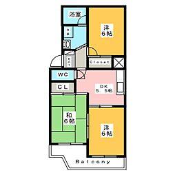 Nextマンション[3階]の間取り
