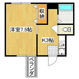 寿苑ビル[5階]の間取り
