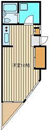 コーポティアラ[2階]の間取り