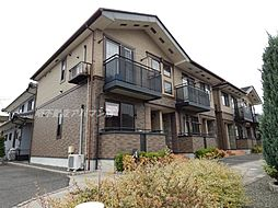 広島県福山市東川口町4の賃貸アパートの外観