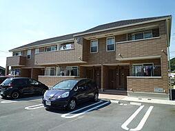 岡山県倉敷市児島通生の賃貸アパートの外観