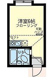 ユナイト 横浜バルベリーニの広場[1階]の間取り