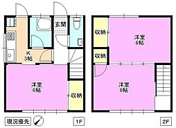 [テラスハウス] 長野県松本市蟻ケ崎4丁目 の賃貸【長野県 / 松本市】の間取り