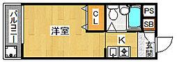 パークブリッジマンション[205号室]の間取り