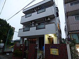 埼玉県戸田市大字新曽の賃貸マンションの外観