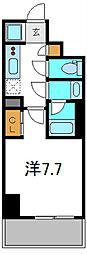 Osaka Metro谷町線 守口駅 徒歩1分の賃貸マンション 3階1Kの間取り