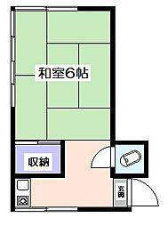マツダ荘[2階]の間取り