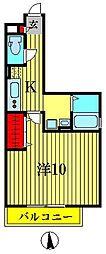 エレガンス・チヨダ[2階]の間取り