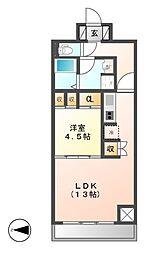 CORNES HOUSE NAGOYA(コーンズ)[4階]の間取り