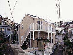 神奈川県川崎市多摩区西生田3丁目の賃貸アパートの外観