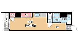 兵庫県神戸市長田区五番町8丁目の賃貸マンションの間取り
