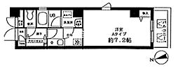 スカイフローリッシュ[5階]の間取り
