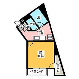 第2T・Tコーポ[1階]の間取り