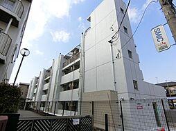 埼玉県草加市谷塚1丁目の賃貸マンションの外観