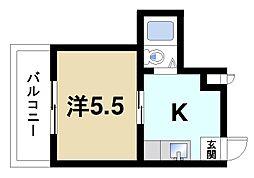 谷垣マンション[1階]の間取り