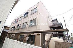 岡山県岡山市北区下伊福1の賃貸マンションの外観